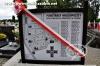 Tablica informacyjna na cmentarzu w Szubinie