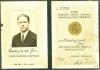 Legitymacja nadania Medalu Niepodległości na nazwisko Jan Andryszak