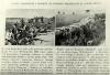 Okopy niemieckie i polskie na froncie północnym w czasie bitwy